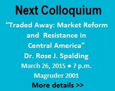 Global Issues Colloquium: Dr. Rose J. Spalding